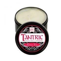 Svíčka masážní TANTRIC s feromony Green Tea