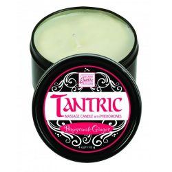 Svíčka masážní TANTRIC s feromony PomGranateGinger