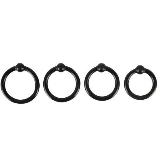 Erekční kroužky 4ks