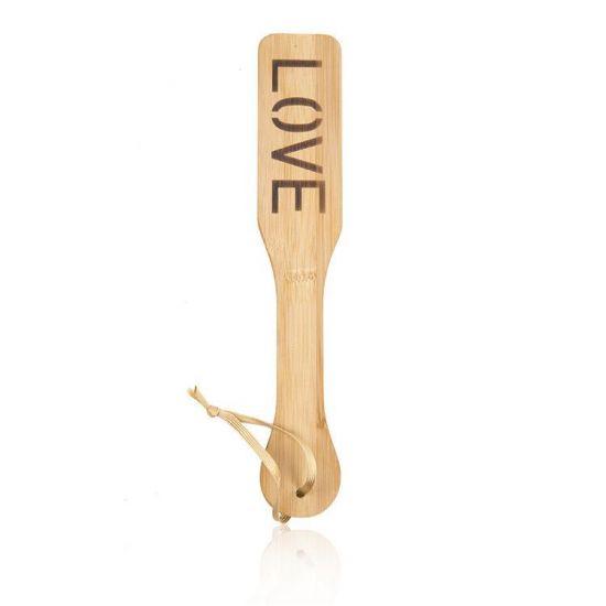 Bambusová plácačka LOVE