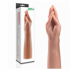 Realistická fisting ruka 35cm