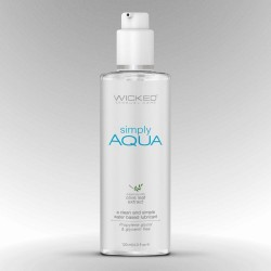 Lubrikační gel WICKED SIMPLY AQUA 120 ml