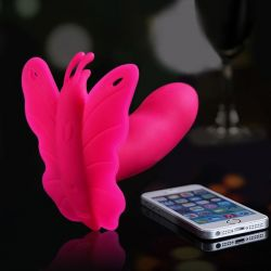 Vibrační Motýlek LYDIA I, ovládání- Smartphone APP