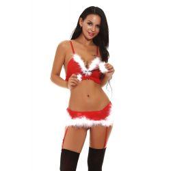 Vánoční sexy prádlo Lucia