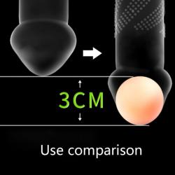 Erekční kulička na prodloužení penisu průměr 3cm