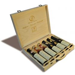 Dřevěná kazeta 6x lahev 0,2l