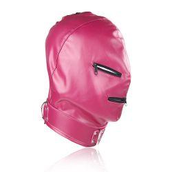 Maska na obličej Devil s očima a ústy na Zip