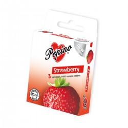 Kondom Pepino Jahoda 3 ks