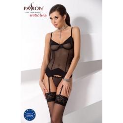 Dámský černý korzet Sandra - Sandra corset