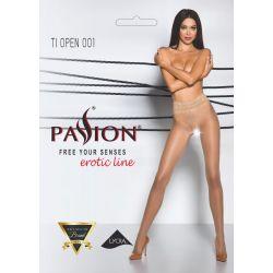 Punčocháče Passion TI Open 001 erotic line