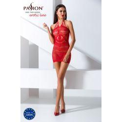 Passion_Bodystocking_BS063 červená