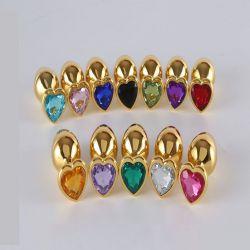 Kolík anální HEART Jewellery plug Jewellery in Gold